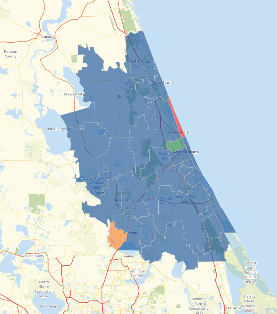 Saturate Space Coast Progress Map